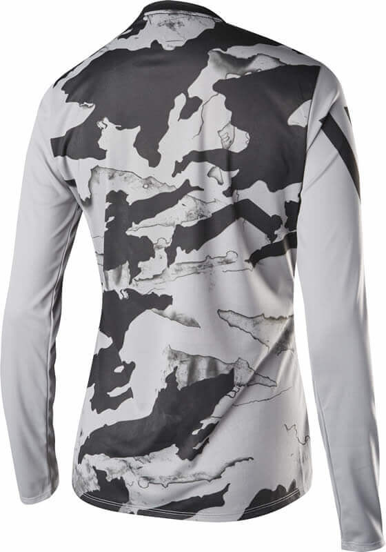 free delivery lowest discount look out for Fox Women's MTB Long Sleeve Cycling Jersey - Ripley, Grey