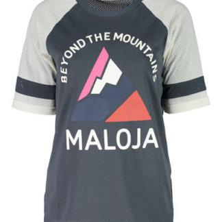 Maloja women's MTB freeride AlzM shorts sleeve jersey waterfall