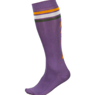 Maloja women's MTB long freeride socks GmainM plum