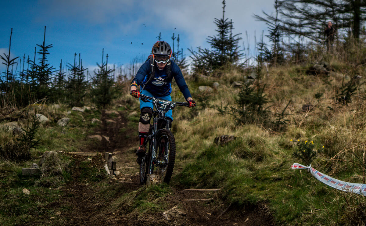 Michelle Muldoon Vitus First Tracks Enduro Cup April 2017