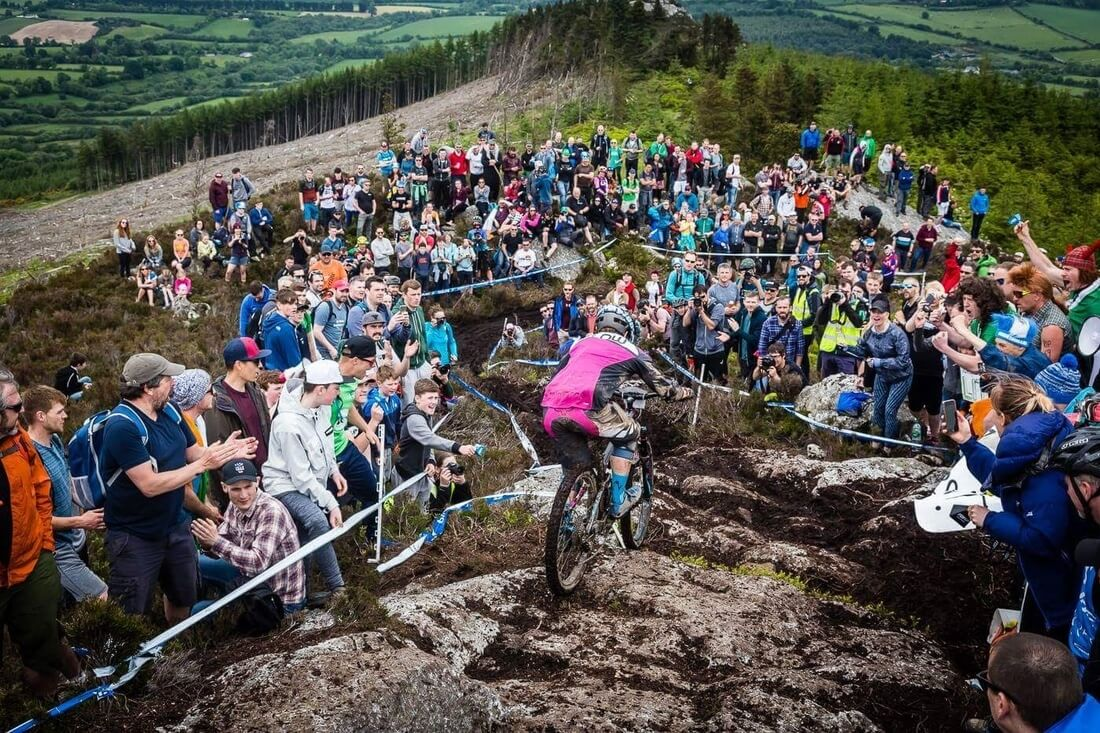 flow mtb rider michelle muldoon at enduro world series round 4 ireland