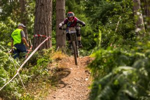 flow mtb rider kate gries 1st place in the 4th round racers guild stile cop ridge run