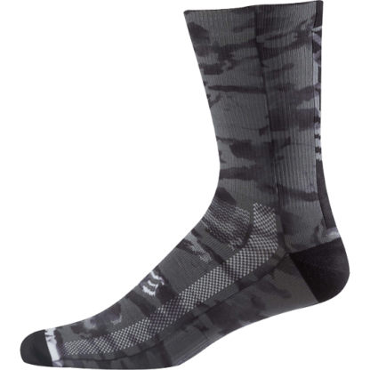 Fox 8 inch mtb creo trail sock black
