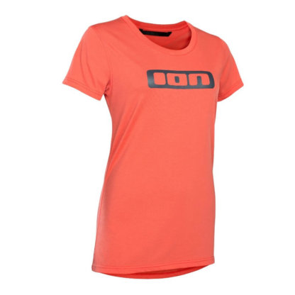 ION Seek Womens Tee Hot Coral from Flow MTB