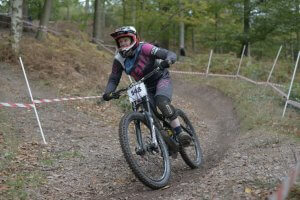 Flow MTB rider Kate wins final round of Racers Guild summer series and overall series winner