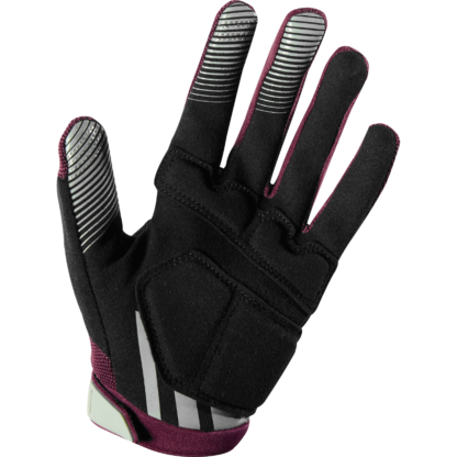 fox ripley gel glove plum - womens mtb glove