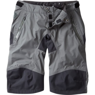 madison womens waterproof shorts grey flow mtb