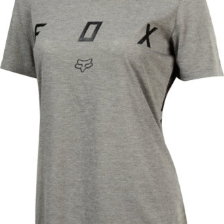 Fox Indicator women's short sleeve MTB jersey 2018 grey