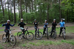 Flow MTB ladies social MTB ride Woburn Trails February 2018