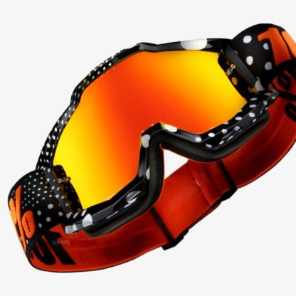 100% Accuri Goggles Gaspard Mirror Red Lens