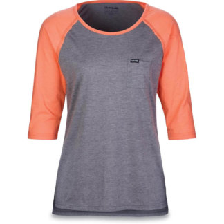 Dakine womens 3/4 sleeve mtb tech tee watermelon