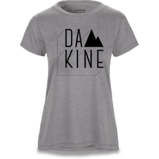 Dakine womens mtb short sleeve tee heather dark grey