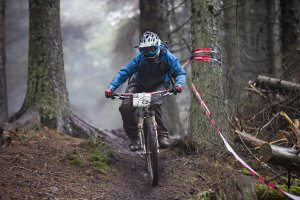Flow MTB rider Heather Kay picked up first place at the first round of the 2018 Welsh Enduro Series