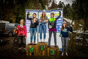 flow mtb rider anna fletcher hope pmba enduro round 2 podium