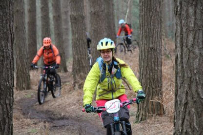 flow mtb social ride woburn woods