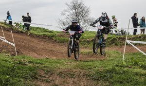 flow MTB rider Heather Kay round 2 Schwalbe British 4X Harthill