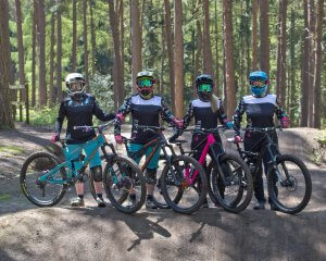 Flow MTB team weekend Chicksands Bike Park