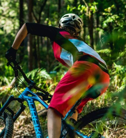 DHaRCO Women's MTB Gravity Shorts from Flow MTB Hibiscus