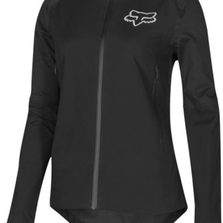 Fox Women's MTB Attack Waterproof Jacket - Black