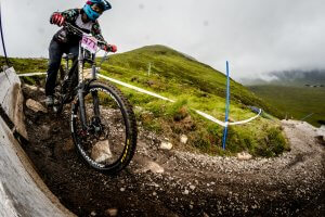 Downhill National Champs Masters Womens Winner Flow MTB Rider Rebecca Smith