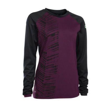 ION Women's Long Sleeve Jersey - Scrub Amp - Pink Isover