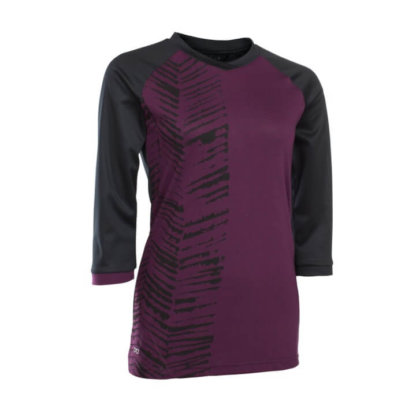 ION Women's Mid Sleeve Jersey - Scrub Amp - Pink Isover