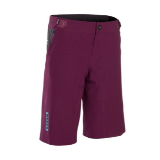 ION Women's MTB Shorts - Traze Amp - Pink Isover