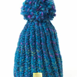 FINDRA Bobble Hat - Ocean