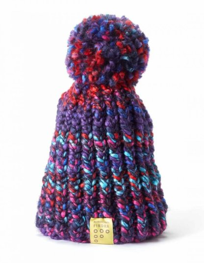 FINDRA Bobble Hat - Winter Sunset