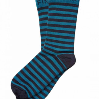 FINDRA Skye Merino Cycling Socks - Midnight Blue/Teal