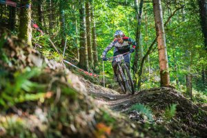 Flow MTB rider Heather Kay Welsh Enduro Series Round 4