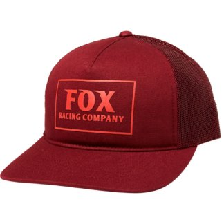 Fox women's Heater Trucker Hat, Cranberry