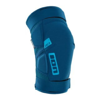 ION K Pact Zip MTB Knee Pads - Ocean Blue