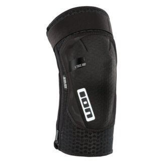 ION Traze Amp Zip MTB Knee Pads - Black