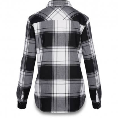 Dakine NOELLA TECH FLANNEL SHIRT - Black and White