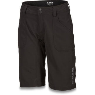 Dakine Xena womens MTB shorts in Black