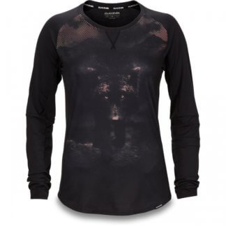 Dakine Xena womens long sleeve MTB jersey in dark wolf
