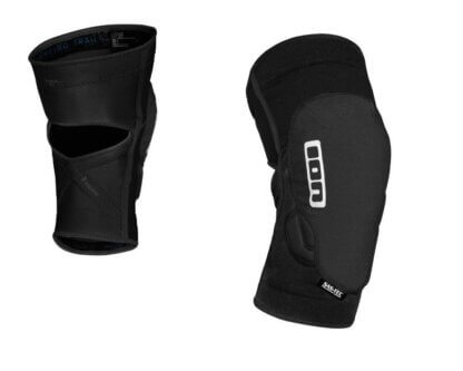 ION K Lite knee pads in black