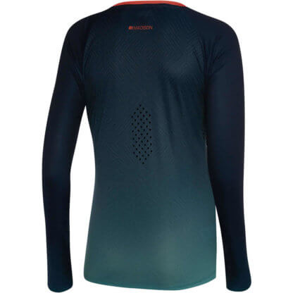 Madison Flux women's MTB long sleeve jersey blue