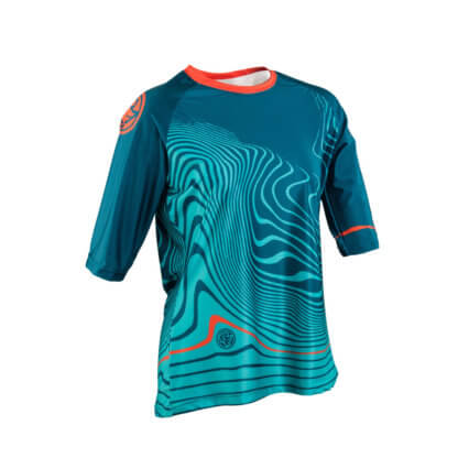 Race Face KHYBER Women's 3/4 Sleeve MTB Jersey - Dark Spruce