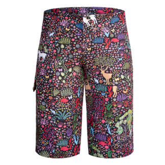 SHREDLY MTB Long TINA Shorts 2019 unicorn print