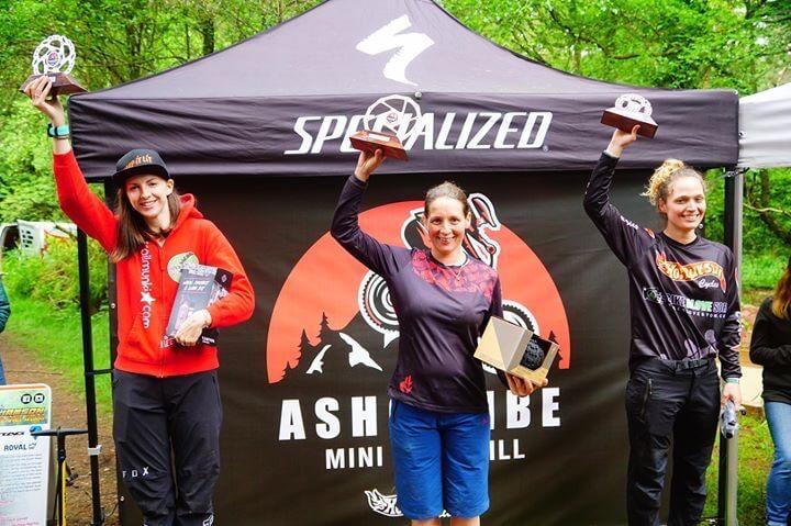 Amy Jones, Ashcombe Mini Downhill, flow MTB