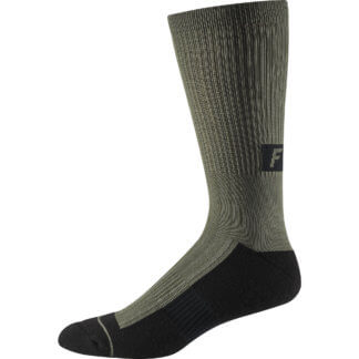 FOX TRAIL CUSHION SOCK OLIVE GREEN - Flow MTB
