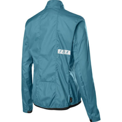 FOX WOMENS DEFEND WIND JACKET AQUA BLUE - Flow MTB