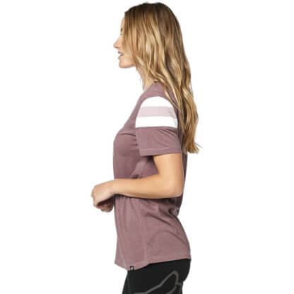Fox Women's Charger Short Sleeve Tee in Purple from Flow MTB