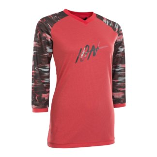 ION Women's MTB Long Sleeve Jersey - Scrub Amp, Pink