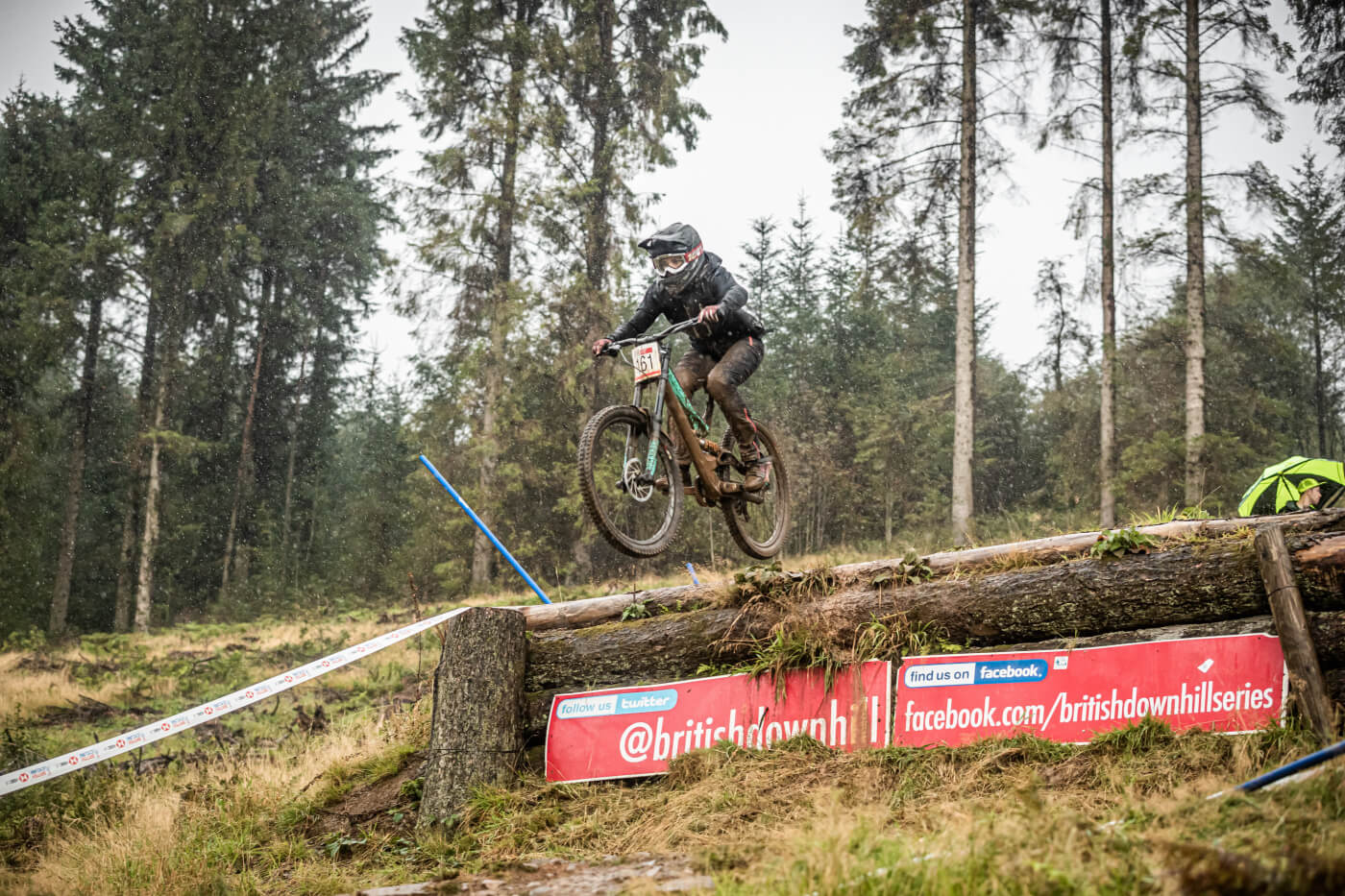Emily Turner, Flow MTB - National Downhill series round 5 Ae Forest