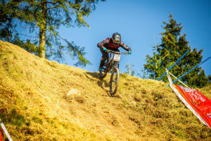 Rebecca Smith, Flow MTB - National Downhill series round 5 Ae Forest