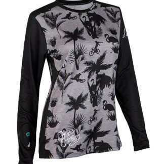 DHaRCO Women's Long Sleeve MTB Jersey - Party Stealth