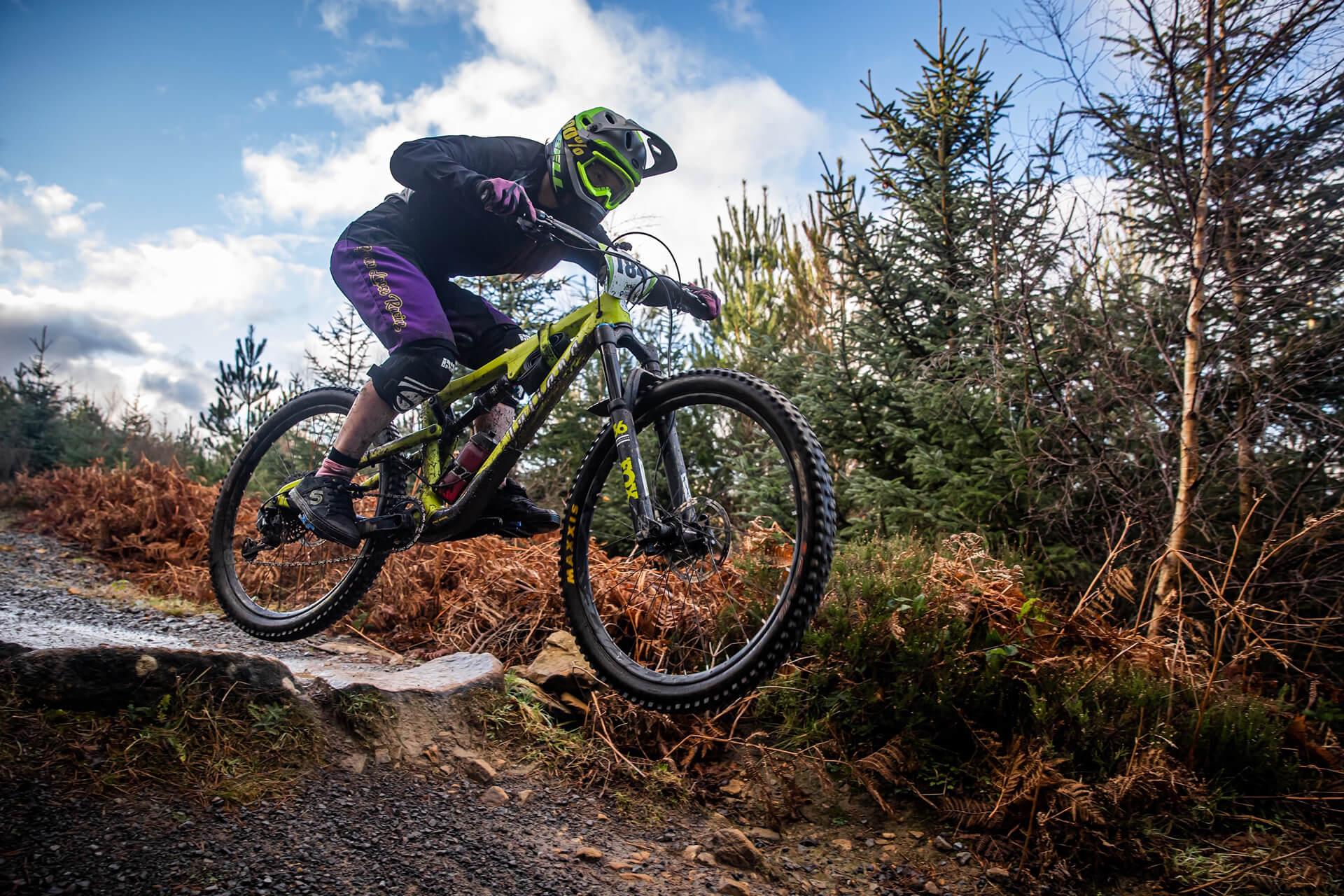 Hollie Vayo - Flow MTB - Fastest women Northern Downhill Hamsterly Enduro
